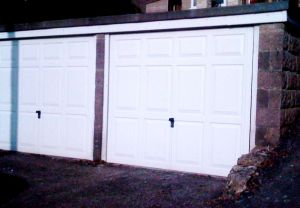 And here, for comparison, are the original garage doors.
