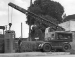 A 1930s GPO crane installs a new K6. This one looks like a model D too!