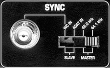 The sync panel from the ADA8000 - my nemesis, until today.