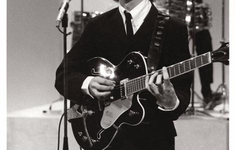 George, Gretsch and barre chord