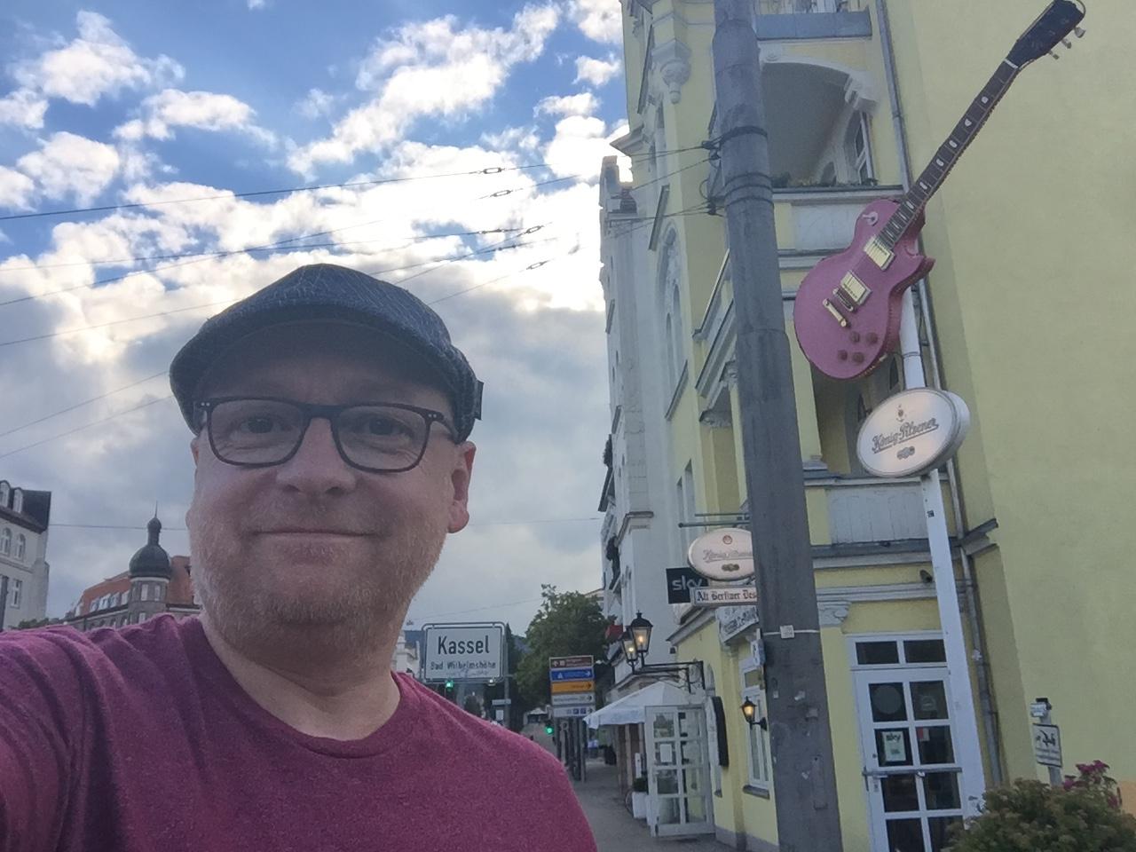 Selfie in Kassel