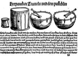 1511 print of drums